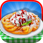 Funnel Cake Maker! Food Game 1.0 Apk