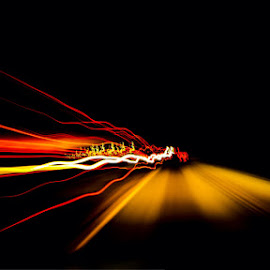 Rush Hour by Bob Welch - Abstract Light Painting