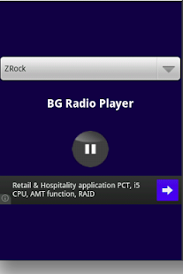 BG Radio Player - screenshot