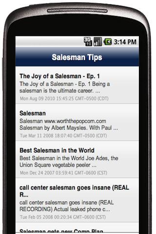 Salesman Tips and News