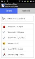 Screenshot of Diabetes Plus Type2
