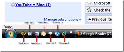 Windows Quick Launch Bar Trick