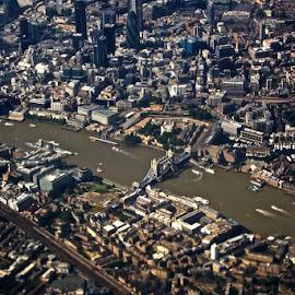 London by Julia Golosiy - City,  Street & Park  Skylines ( uk, london,  )