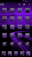 Screenshot of Serenity Launcher Theme Purple
