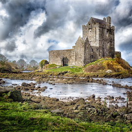 Dunguaire Castle, Ireland by Marie Otero - Buildings & Architecture Public & Historical ( building, ireland, castle, seascape, landscape, historic )