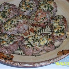 Pork Medallions With Blue Cheese-Chive Stuffing