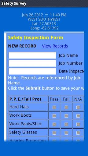 LAS Safety Survey