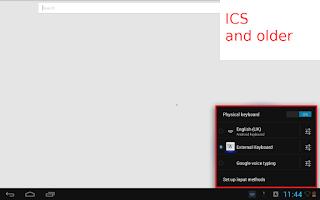 Screenshot of External Keyboard