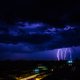 Storm  by Erich Photograpy - Landscapes Weather ( indonesia, lanscape, weather, pekanbaru, street photography )