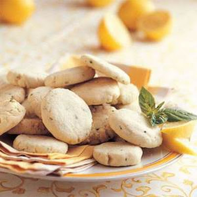 Lemon-Basil Butter Cookies