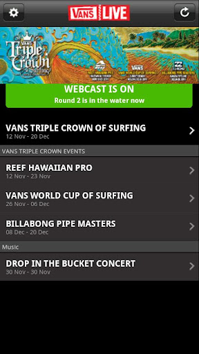 Vans Live 2.0 for Android