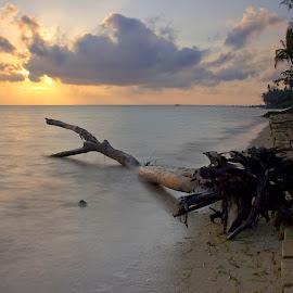 Sunrise by Hendrik Photography - Landscapes Beaches ( eos, sunrises, landscape photography, beach, natural )