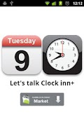 Screenshot of Clock inn (Clock & Cal Widget)