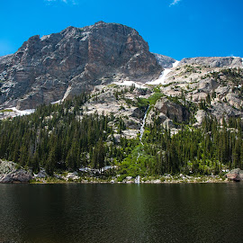Copeland Mountain by Shea Oliver - Landscapes Mountains & Hills ( rocky mountains, colorado, copeland mountain, rocky mountain national park, rmnp, pear lake )