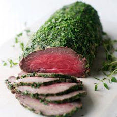 Cured Beef Fillet with Herbs