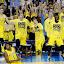 Michigan wins! by Drew Tarter - Sports & Fitness Basketball ( college basketball, basketball, ncaa tournament, celebration, university of michigan, final four )