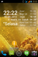 Screenshot of Azan Scheduler