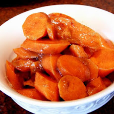 Cinnamon Glazed Carrots