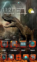 Screenshot of VELOCI GO Launcher Theme