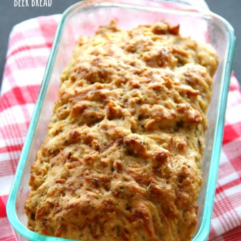 Rosemary Red Onion Beer Bread
