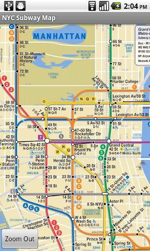NYC Bus Subway Maps