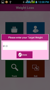 WLAP - Weight Loss App - screenshot
