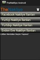 Screenshot of Nakliye İlanları Yazılımı