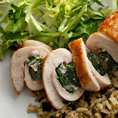 Chicken Stuffed with Spinach and Feta Recipe