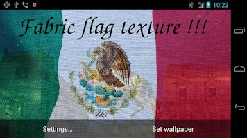Screenshot of 3D Mexico Flag Live Wallpaper