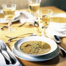 Mussel Bisque with Saffron