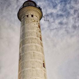 Lyngvig Lighthouse by Morten Rasmussen - Buildings & Architecture Public & Historical ( morten rasmussen, hdr, ringkøbing, lyngvig, denmark )