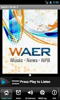Screenshot of WAER Syracuse Public Media