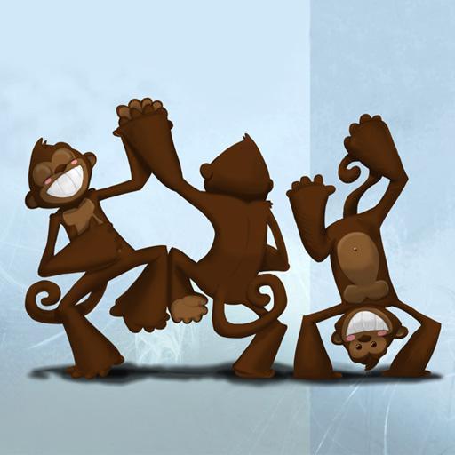 The Dancing Monkeys 書籍 App LOGO-APP試玩