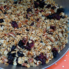 Cranberry-Walnut Granola