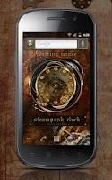 Screenshot of スチームパンクアナログ時計ウィジェット