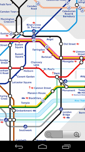 London Tube Map - screenshot