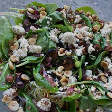 Warm Spinach and Dried Fig Salad from Sun-Maid