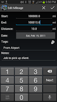 Screenshot of Expense Manager BluJ Business