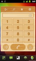 Screenshot of Speed Dial Wood Widget
