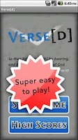 Screenshot of Versed (Bible verse game)