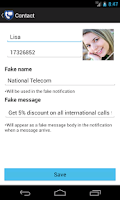 Screenshot of Private Calls and SMS