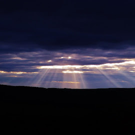 Winslow Hill Sunrise by Douglas Clifford - Landscapes Sunsets & Sunrises
