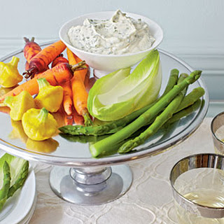 Basil Aïoli with Crudités