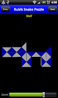 Screenshot of Rubik Snake Puzzle