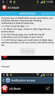 Screenshot of AD-BLOCK (Notification Killer)
