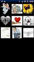 Screenshot of Love quiz ;-)