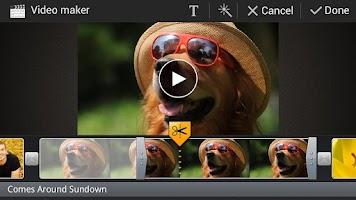 Screenshot of Video Editor