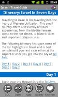 Screenshot of Israel - FREE Travel Guide