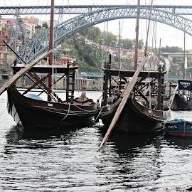 Rabelos by Lia Ribeiro - Transportation Boats