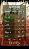 Screenshot of Namaz Vakitleri